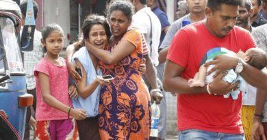 В Шри-Ланке произошёл 9-й взрыв за сутки