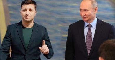 Андрюха Червонец. Две новости рядом о встрече Зеленского и Путина