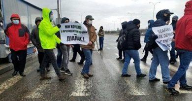 Виталий Диденко.Протесты в Одессе. Моряки — против коррупции и поборов в Мининфраструктуры