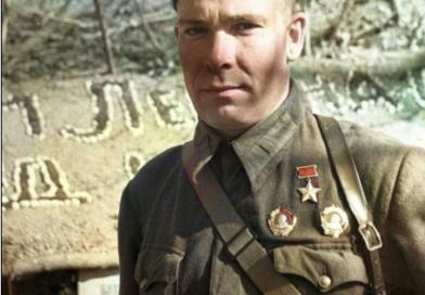 Герой обороны Одессы Владимир Поликарпович Симонок (1912 — 26.03.1942).