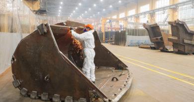 Хроники «страны-бензоколонки»:   В Иваново открыли новый цех по выпуску ковшей для экскаваторов